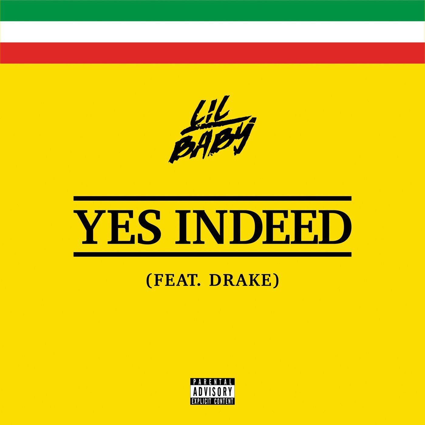 """Listen to @lilbaby4PF and @Drake  team-up on """"Yes Indeed."""" https://t.co/O0UAOsdcT9 https://t.co/qP9Rt0IjYD"""