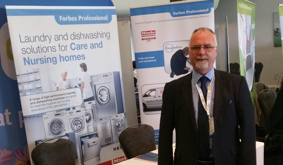 Come and discuss our @MieleProf #laundry and #dishwashers at @careroadshows #liverpool #aintree today. #care #careroadshows #est1926