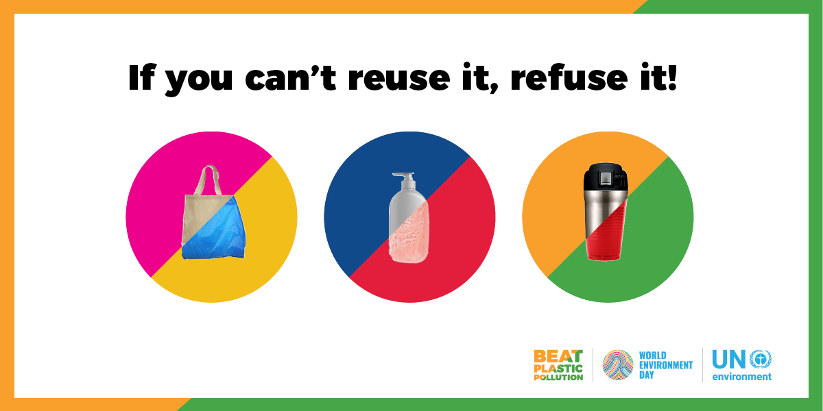 Only 3 weeks til #WorldEnvironmentDay! The theme this year is #BeatPlasticPollution - learn more about this year's global celebration of our common home: https://t.co/R9UemxjrId
