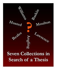 test Twitter Media - Exhibition: Seven Collections in Search of a Thesis April 17, 2018 through mid-May -- during library hours Special Collections & Archives exhibit cases, Olin Library 1st floor https://t.co/Urnz8kzA0n