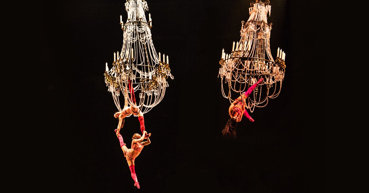 Webster bank arena on twitter have you ever done something beyond have you ever done something beyond the ordinary such as swing from a chandelier like corteo by cirque du soleil artists come see them from july 18 22 mozeypictures Gallery
