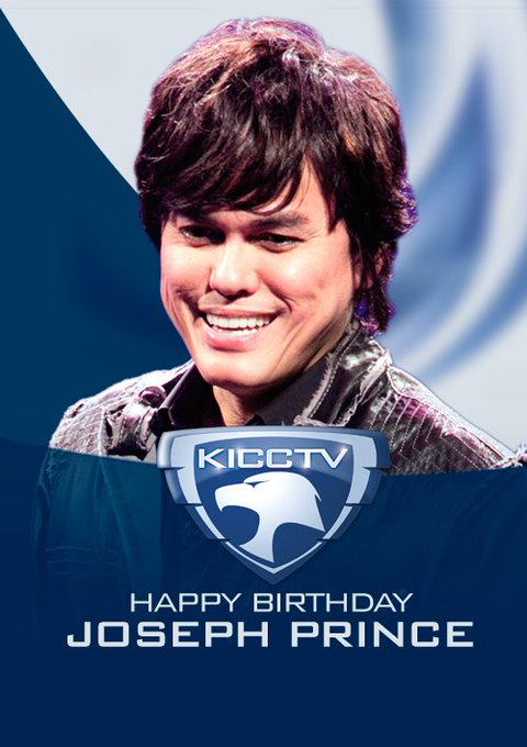 Happy Birthday Pastor Joseph Prince