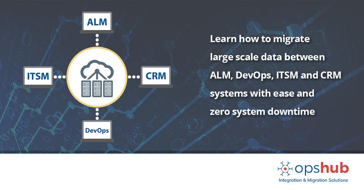 Learn how to migrate large scale data between #ALM, #DevOps, #ITSM and #CRM systems with ease and zero system downtime. Know more:  https:// goo.gl/KL91Gn        #DataMigration #Migration #MigrateData #MigrationTools #legacysystem #DataMIgrationTools @devopsdotcom<br>http://pic.twitter.com/1xYGQ8SOlZ