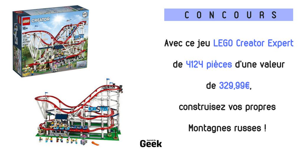 [ #CONCOURS ] Tentez de gagner ce jeu #LEGO Creator Expert de 4124 pièces ! 🎢 Pour participer : RT + Follow le  🎁