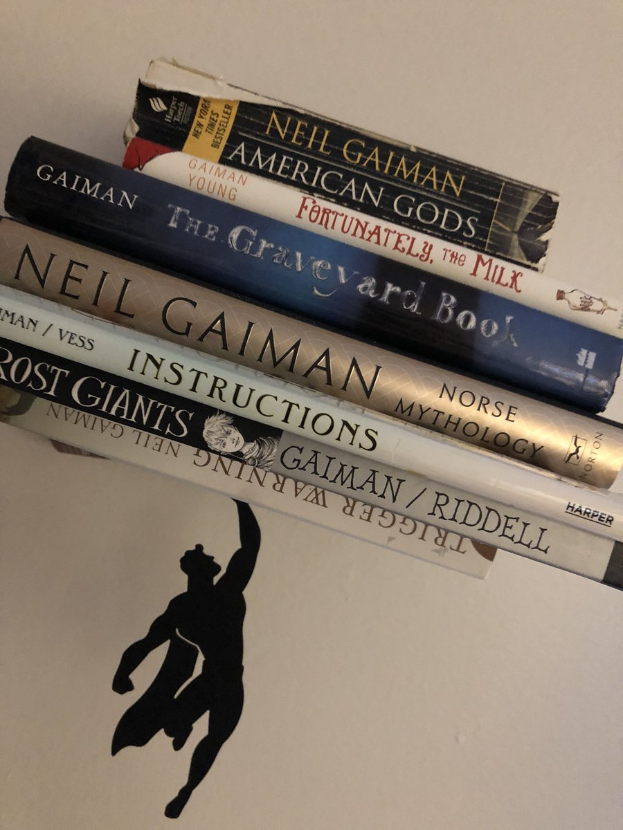 Adina Ciment On Twitter Neilhimself The Superman Bookshelf Symbolic