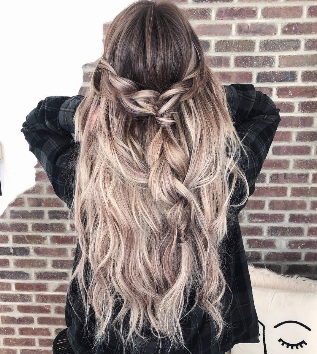 Hairtalk Extensions On Twitter We Love A Disheveled Braid