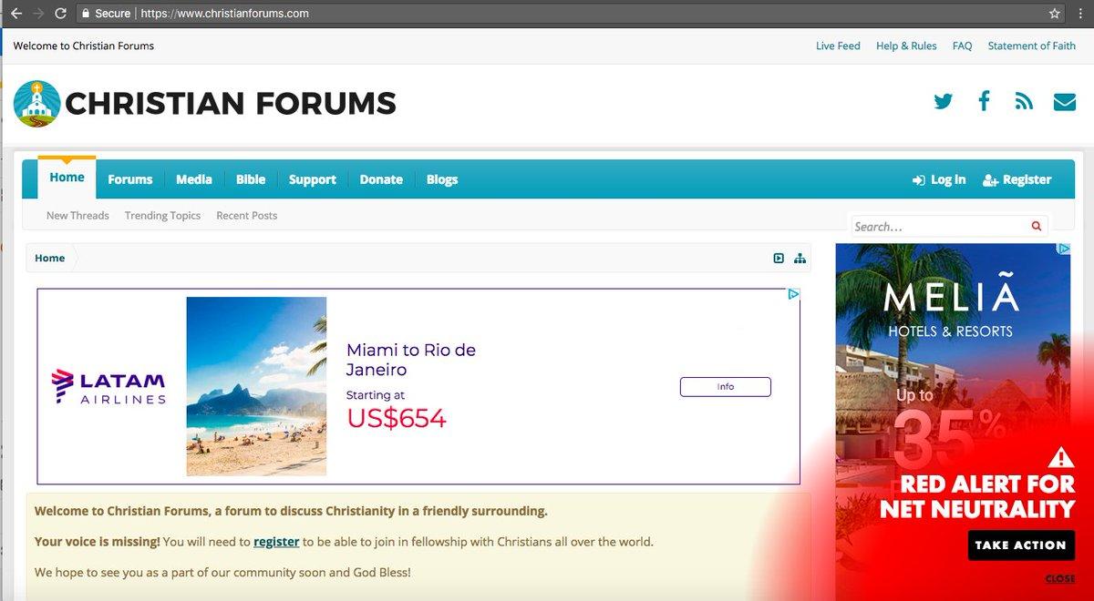 online christian forums