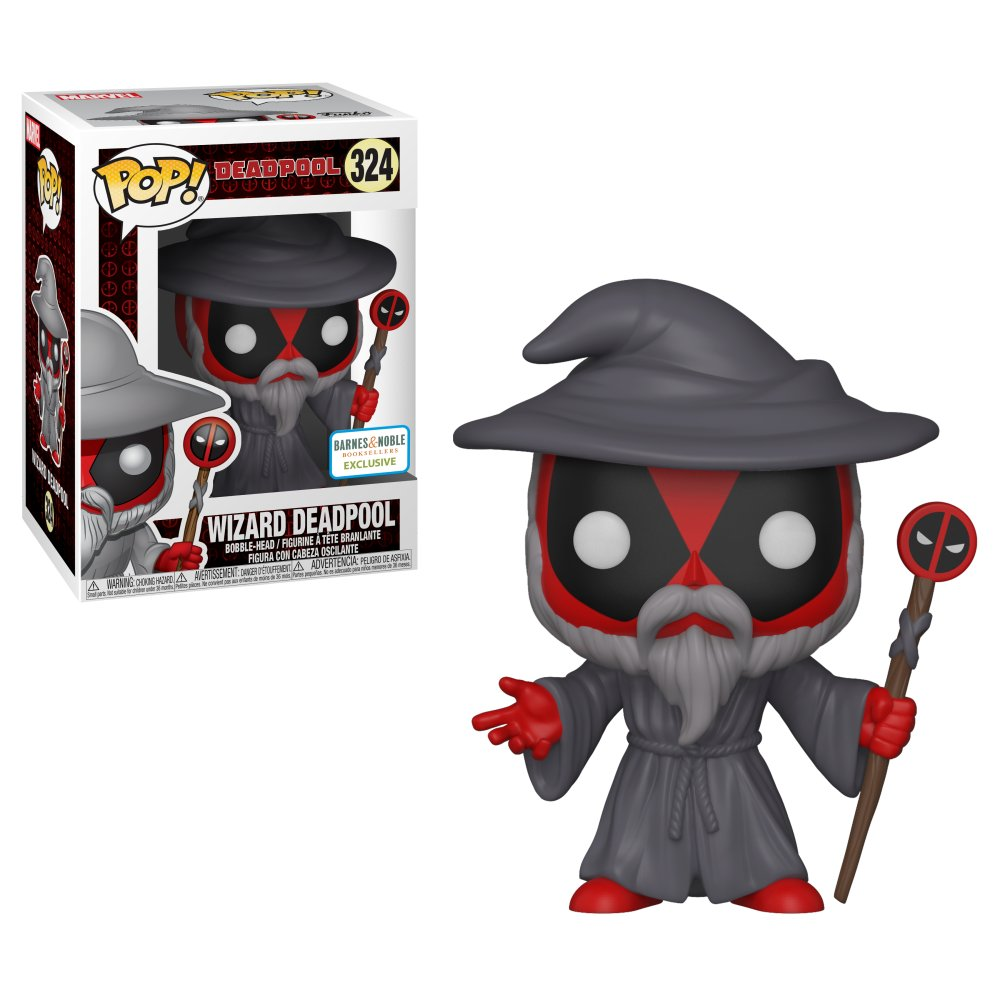 RT & follow @OriginalFunko for the chance to win a @BNBuzz exclusive Wizard Deadpool Pop!