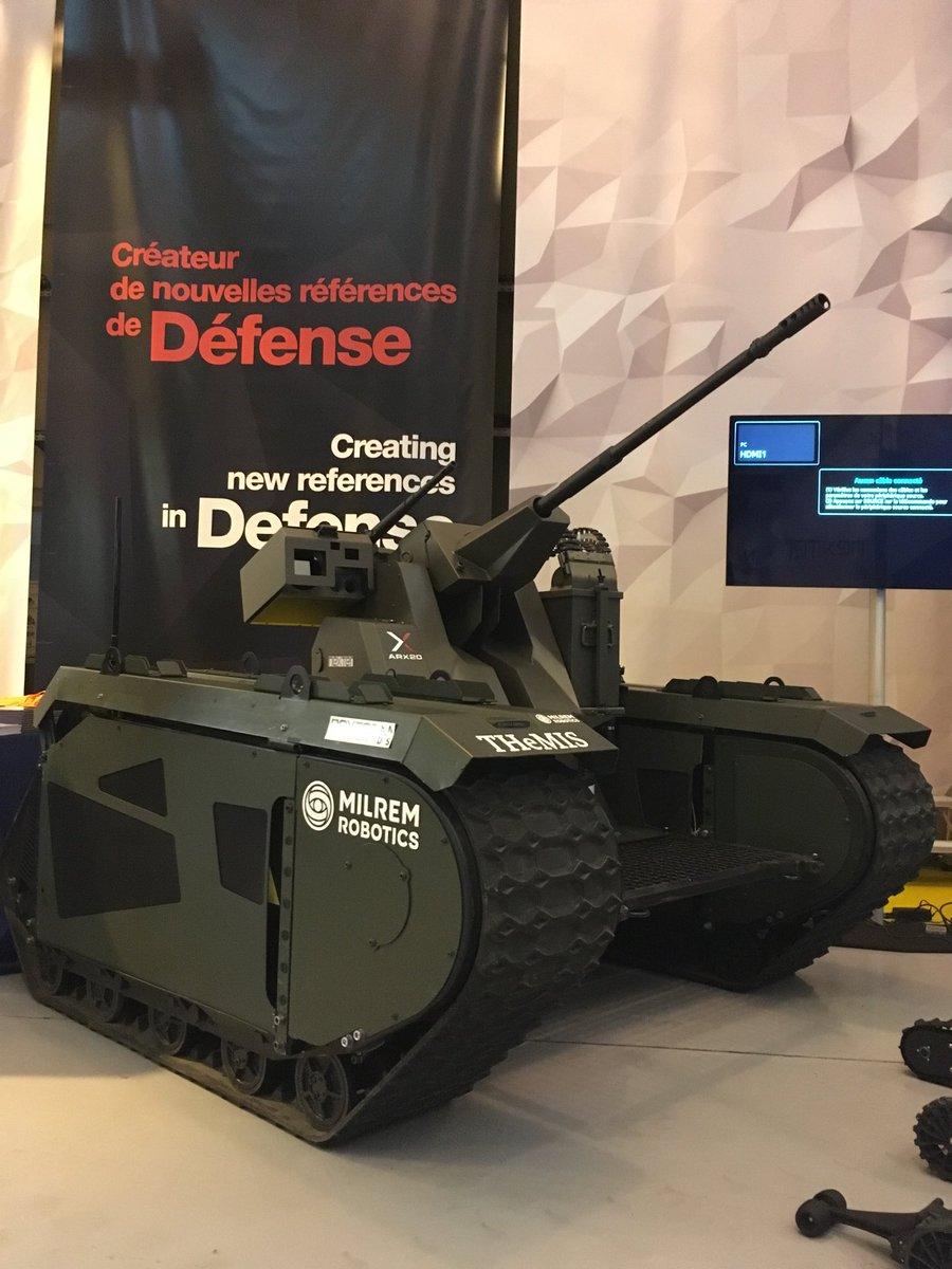 """Arme Prototype aude leroy on twitter: """"#fildefense #nexter robot armé, prototype"""