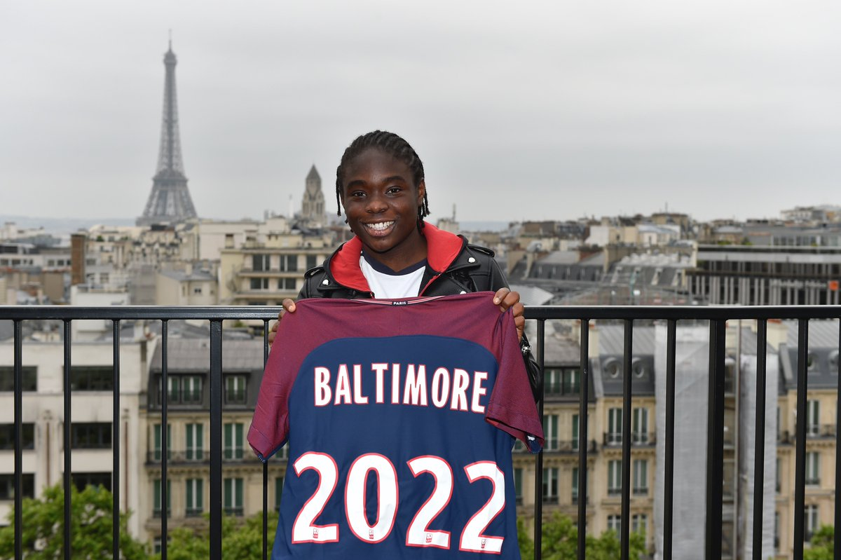 "PSG Féminines on Twitter: ""📃🖊 Sandy Baltimore s'engagera à ..."
