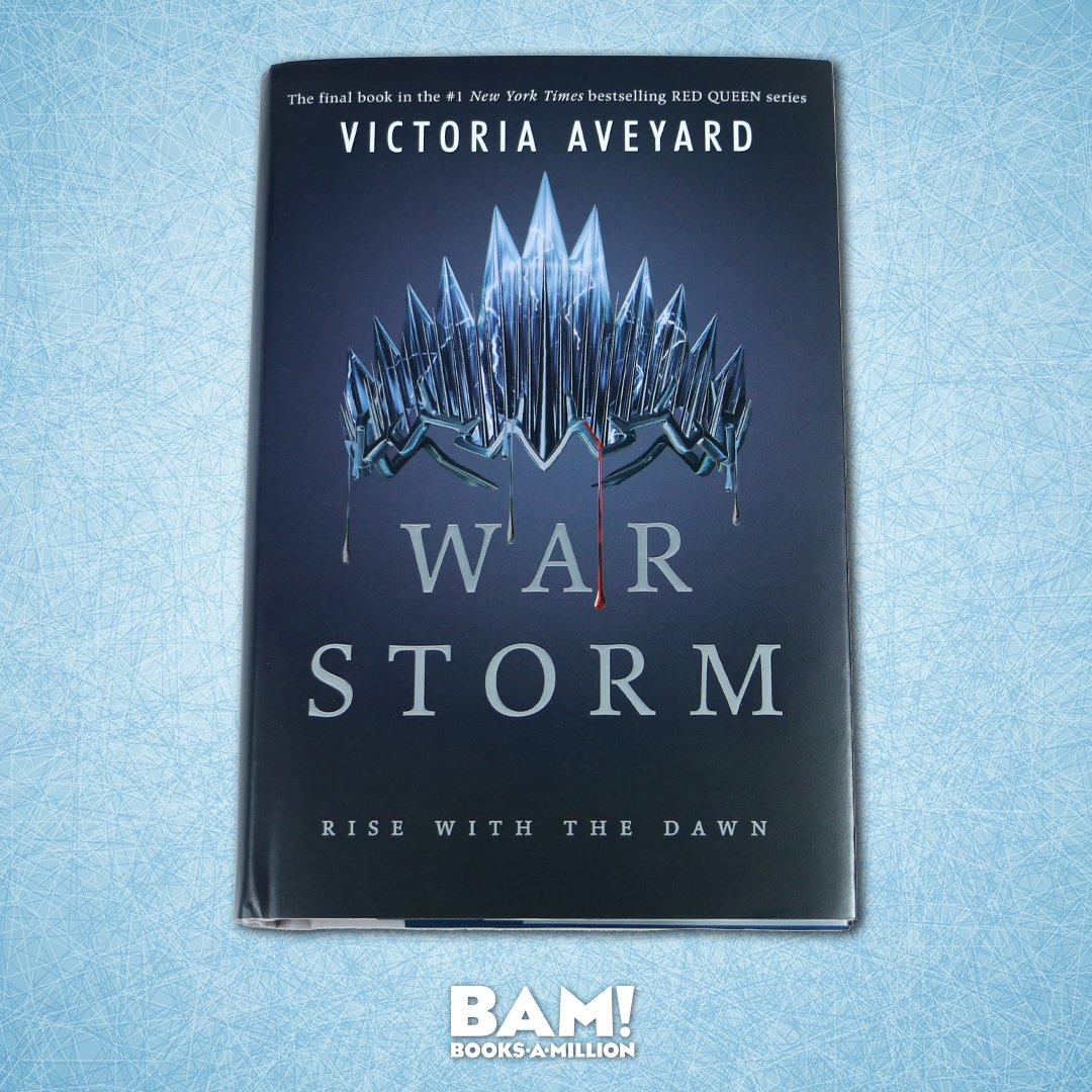 The #1 New York Times bestselling RED QUEEN series comes to a stunning conclusion in WAR STORM. Find it today at #BooksAMillion bit.ly/2rGPD8R
