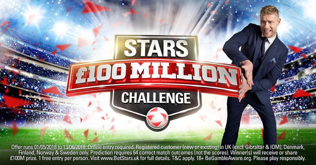 Stars Challenge Win £100 million