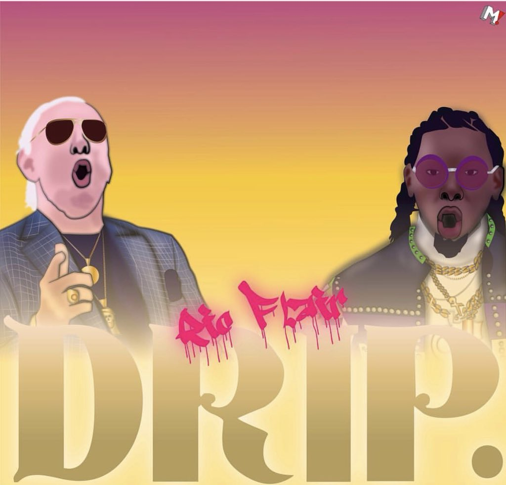 This Artwork Is Drippin'! #ricflairdrip #fanart  Art By: Michael Cobain