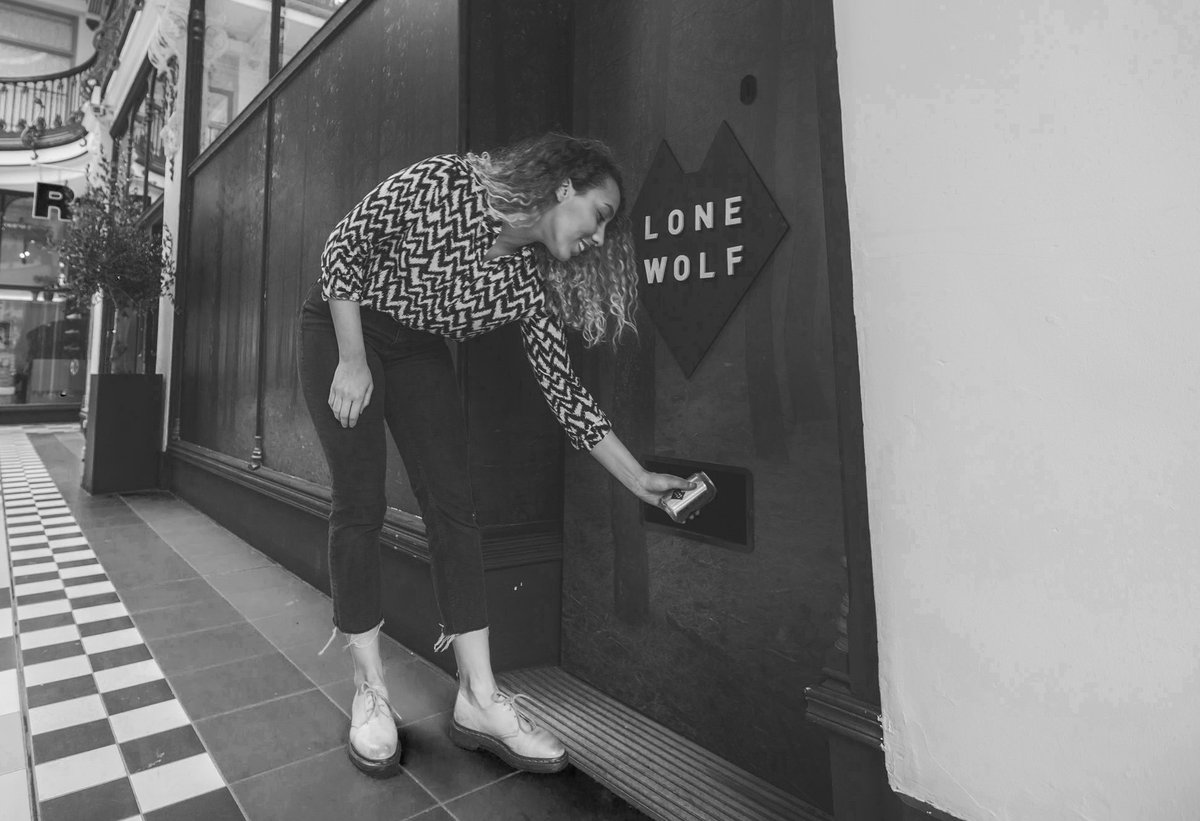 Image for It's been one month since the LoneWolf gin dispensary descended upon Manchester.   Where should we head next? https://t.co/ck4vkcG7Ze
