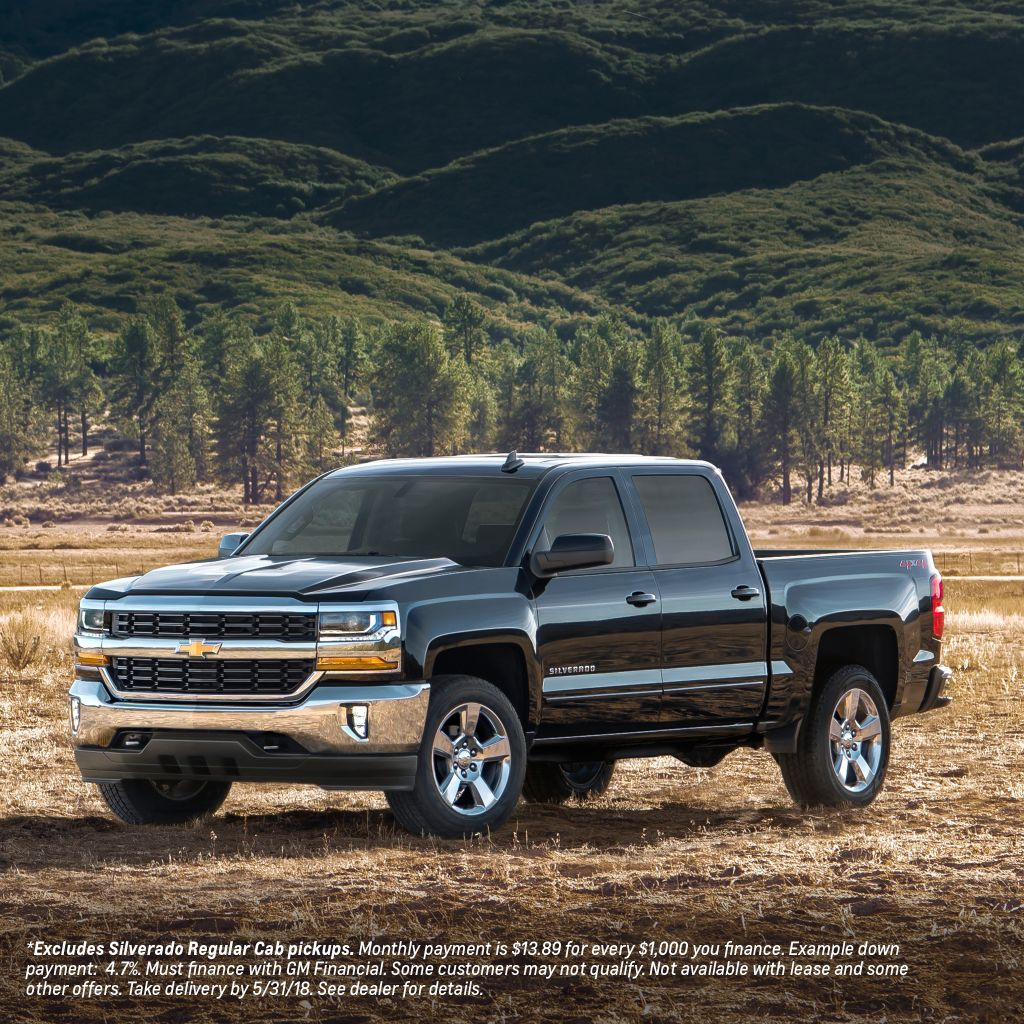 "W-K Chevrolet on Twitter: ""Discover something strong ... 