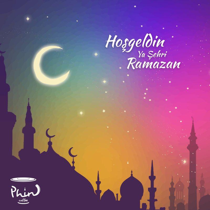 Ramazan-ı Şerifiniz Mübarek Olsun. #Phincoffee #Coffee #BenimCevahirim #İstanbul
