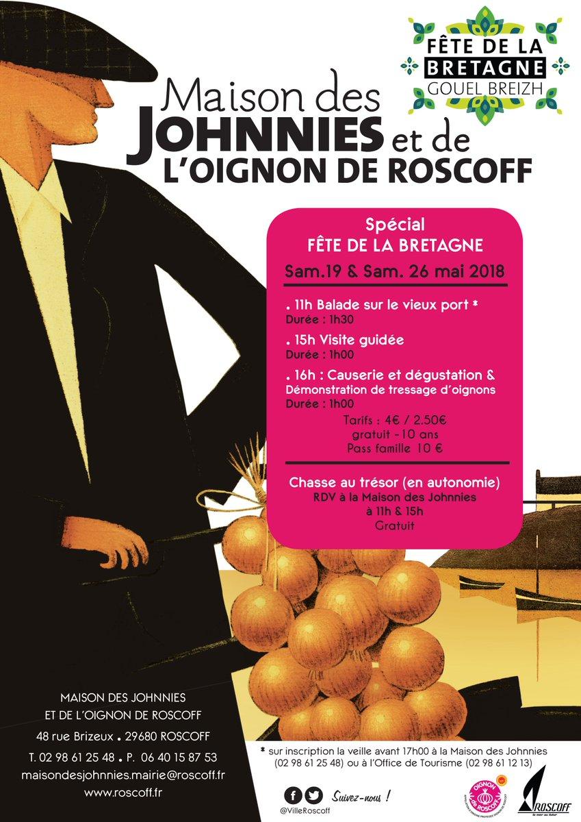 Ville De Roscoff On Twitter De Nombreuses Animations A La Maison Des Johnnies Et De L Oignon De Roscoff Les Samedis 19 Et 26 Mai Fetebretagne2018 Gouelbreizh2018 Https T Co 2pddxcrh9w