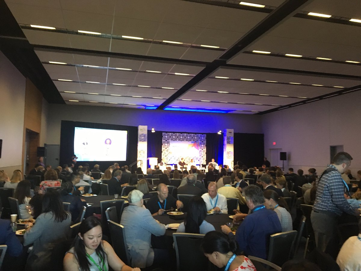 A full house at #BCTech Summit listening to some of Canada's Tech Champions @invoker @StephenUfford Laurie Schultz and our own @MichaelDenham @bdc_ca @BDC_Capital!<br>http://pic.twitter.com/tejJcbBjIZ