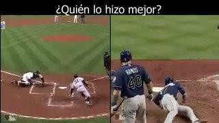 Dos deslices muy parecidos e impresionantes. ��  ¿Cuál fue mejor? ���� ¿Ichiro o Hechavarría? #LasMayores https://t.co/MESccI73Dv