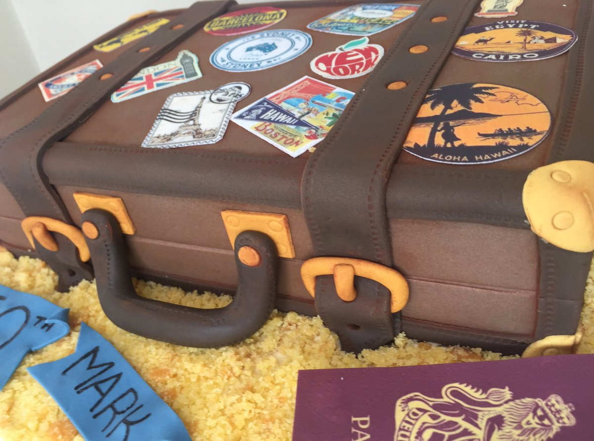 For Goodness Cake Am On Twitter Packed My Bag And Obviously Its