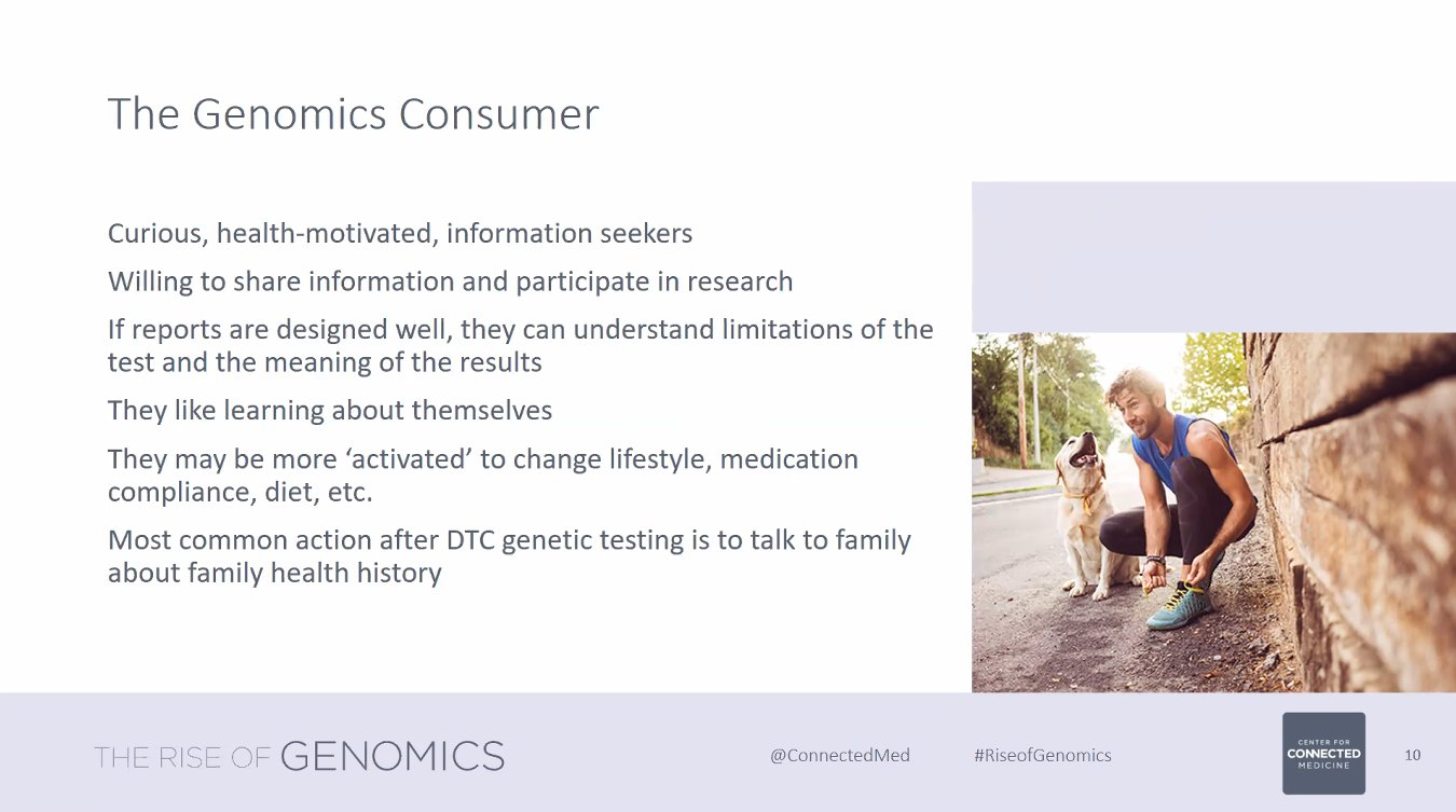 Rasu Shrestha Md Mba On Twitter The Genomics Consumer May Be