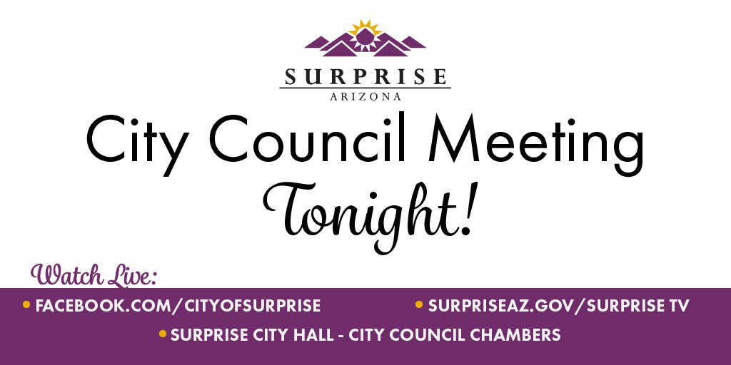 City of Surprise on Twitter: \