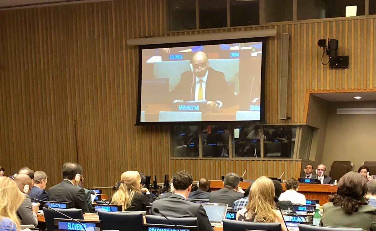 Today @ 6th Review of UN Global Counter-Terrorism Strategy: As a matter of fundamental importance, we hope the review process affords greater attention to the issue of COMPLIANCE. Experience has shown that non-compliance by any country can have broad security implications #UNGCTS