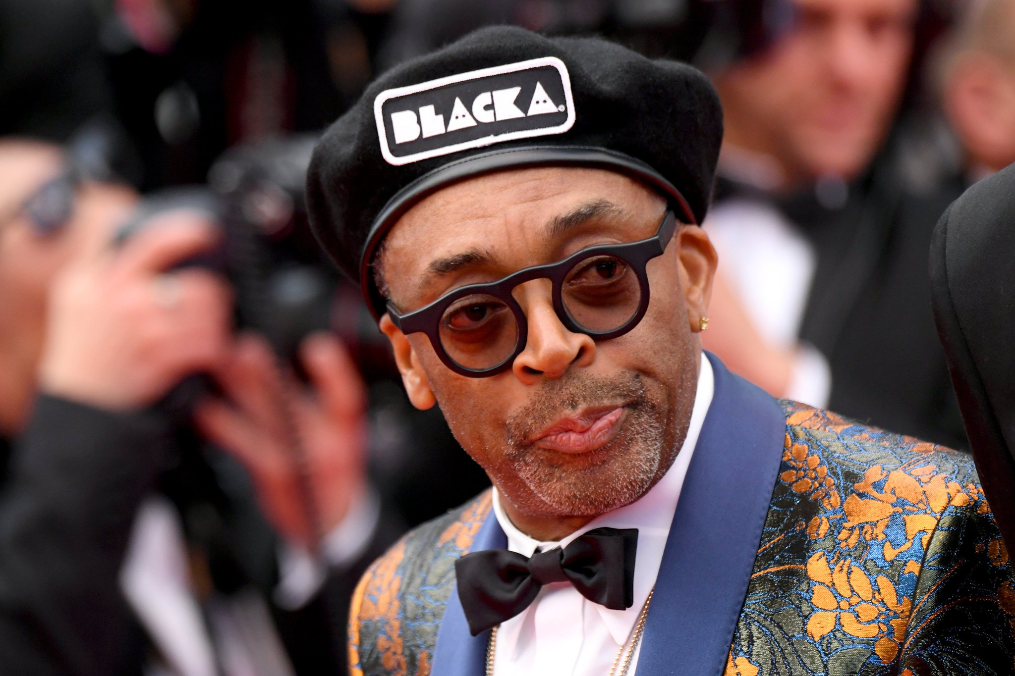 Spike Lee gave an impassioned speech at the BlacKkKlansman Cannes premiere. https://t.co/GeBJ5RIHjf https://t.co/a39TfF5YUR