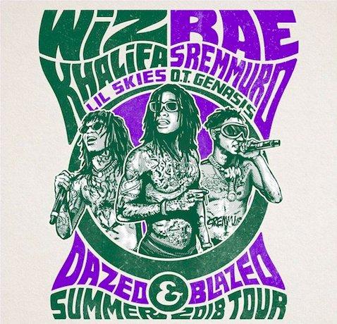 .@wizkhalifa & @RaeSremmurd Announce 'Dazed & Blazed' Tour https://t.co/xPWRwjoeB2 https://t.co/hWrkgGuBU6
