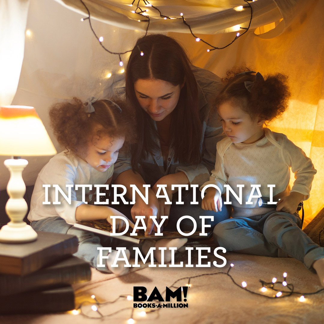 Today is an opportunity to highlight the importance of families, What moments do you share with yours? #BooksAMillion