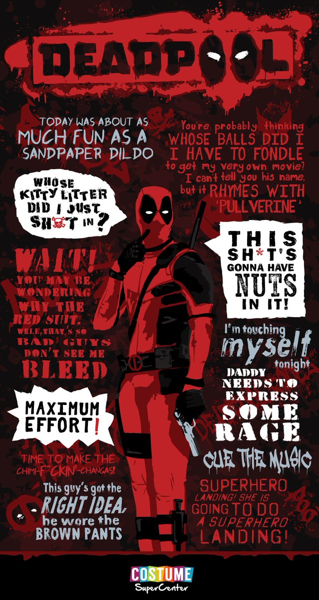 Costume Supercenter On Twitter What Are Your Favorite Deadpool