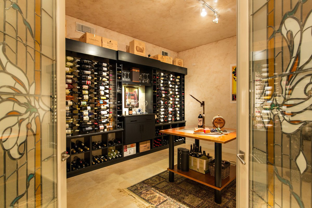 Modern Wine Cellars On Twitter Beautiful Basement Wine Cellar In A San Marcos Home Designed By Vintagecellars