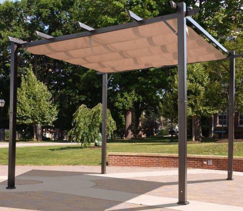 pergola aluminum, outdoor pergola aluminum canopy retractable shade shelter 10x10, Design ideen