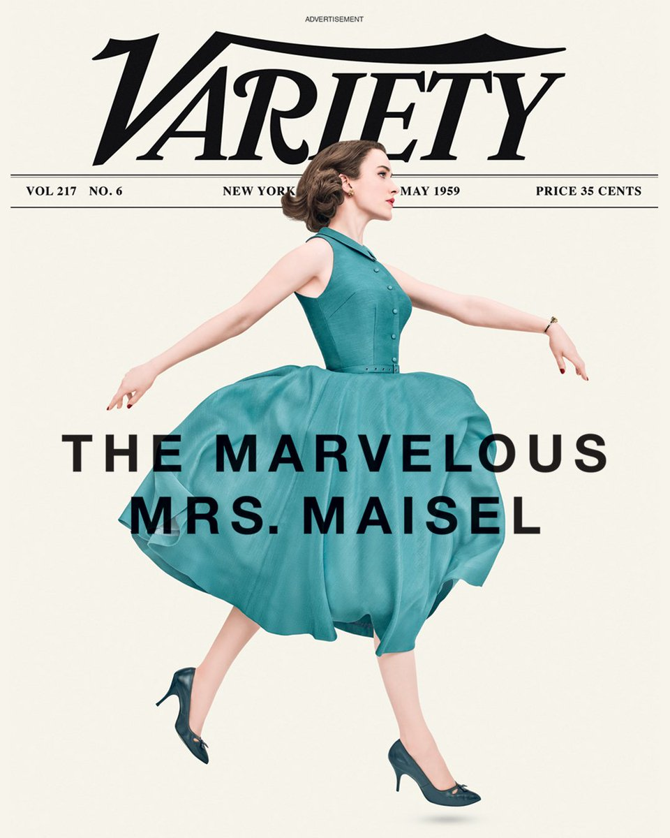 Nouvelles couvertures de magazines The Marvelous Mrs Maisel DdQYP5BVQAA1Erp