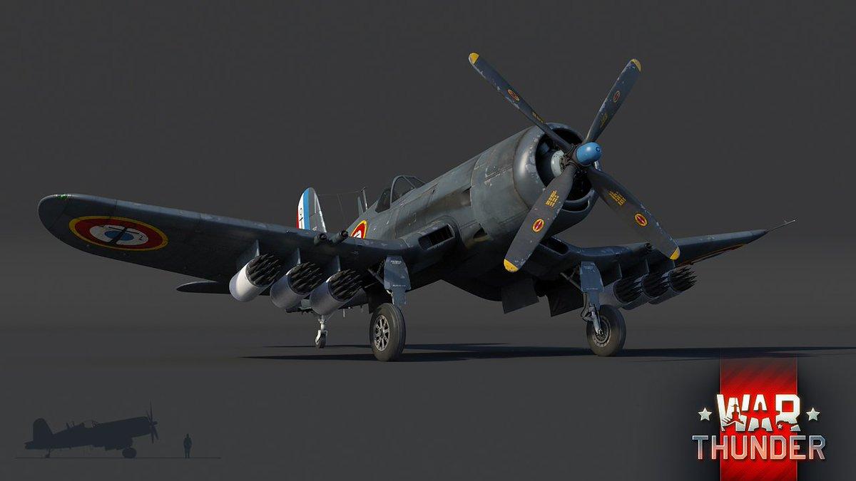 Poslední série modifikací známého Corsairu pod taktovkou francouzského námořnictva, schopné nést americké i francouzské bomby a rakety. Hej, tankisti! Jak se máte tam dole? https://t.co/2ws7XWmldi https://t.co/JG1UnmeWhq