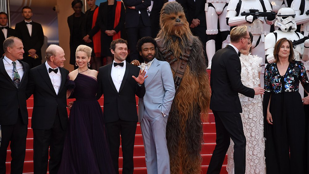 #SoloAStarWarsStory brings Chewbacca and Stormtroopers to #Cannes https://t.co/mKu08HoflN https://t.co/DX6Hx5bR6A