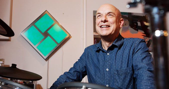 Happy birthday Brian Eno! Read our tribute to his boundless curiosity