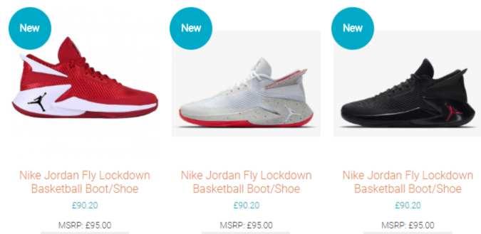 24fe17f7ae86 Nike s Jordan Lockdown basketball shoes at below RRP prices. SwiSh price  £90.20