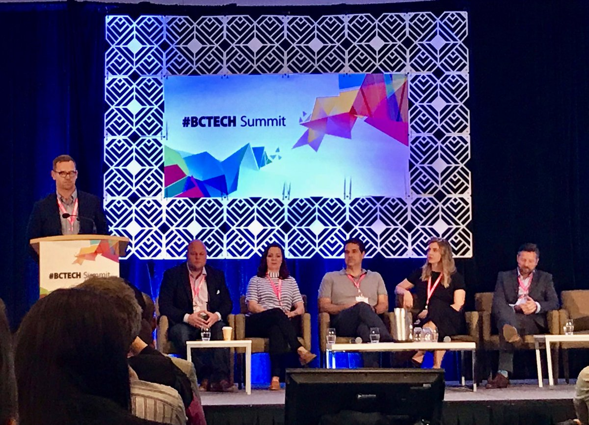 .@burkecpb Kicking off the #BCTECHSummit discussion about why #BC is the perfect place to grow #BCTECH with a powerhouse exec panel: @theemilykey @jack_newton @mtippett @Jessedougherty @meetavenue @pwc_tech<br>http://pic.twitter.com/G0PNpZNUQm