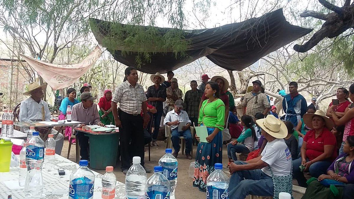Invasores amenazan a comuneros que demandan restitución de tierras