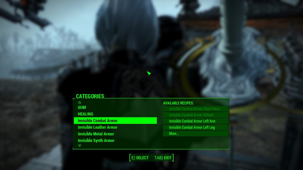 Fallout 4 Mods Invisible