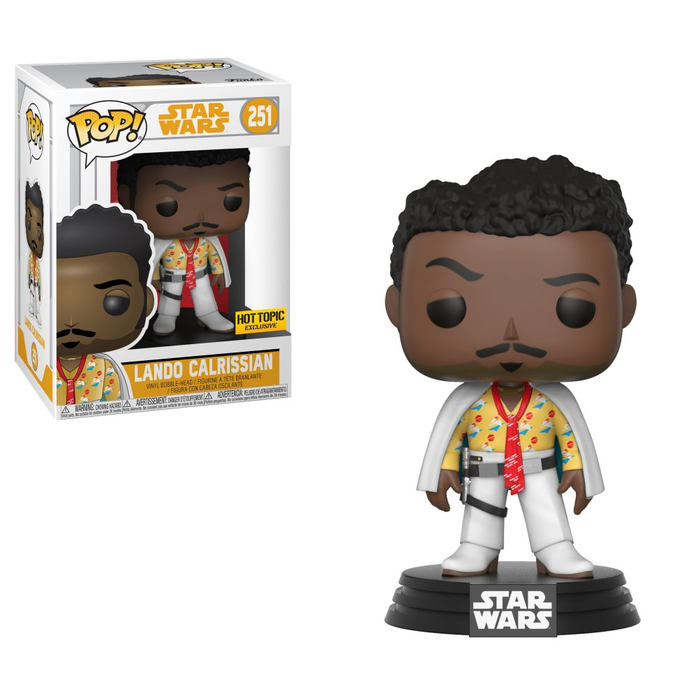 RT & follow @OriginalFunko for the chance to win a @HotTopic exclusive Lando Calrissian Pop! #Lando