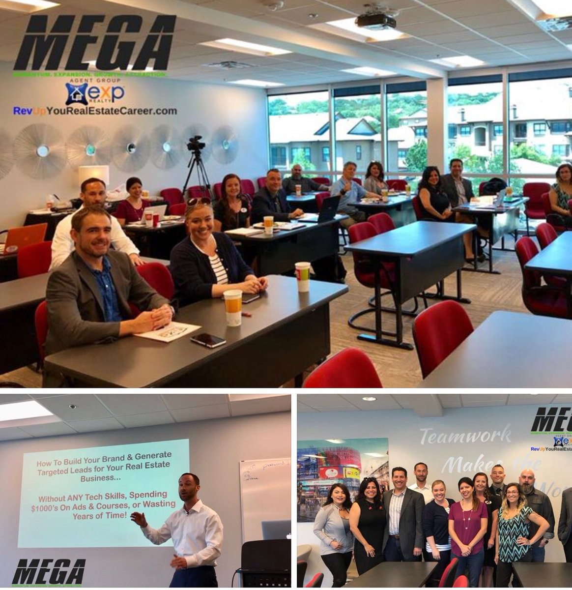 Thank you Jeremy McGilvrey for the awesome info today! Really great stuff... we enjoyed it & cant wait to implement it! #MEGAagentGroup #eXp