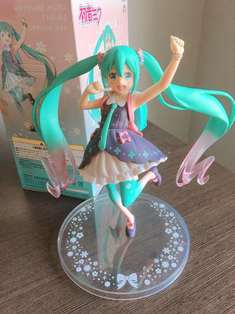 Kane On Twitter These Prize Figures Are Gorgeous Hatsune Miku Figure Spring Clothes Taito