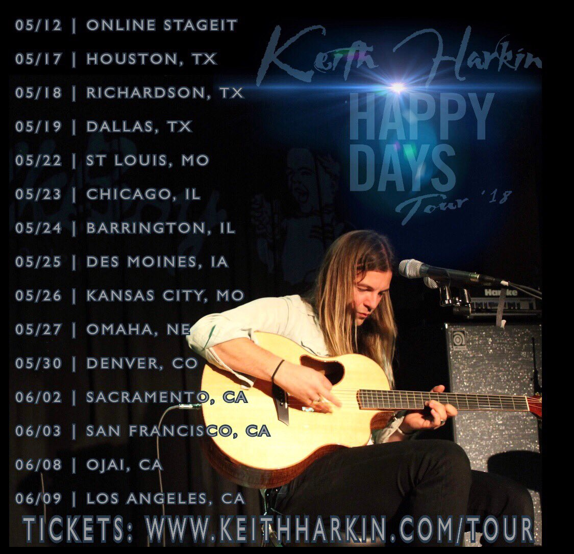 Andrea motturi on twitter this keithharkins happy days keithharkins happy days tour happening get your vip meet greet or general admission tickets now at httpstkdeobcoswi m4hsunfo