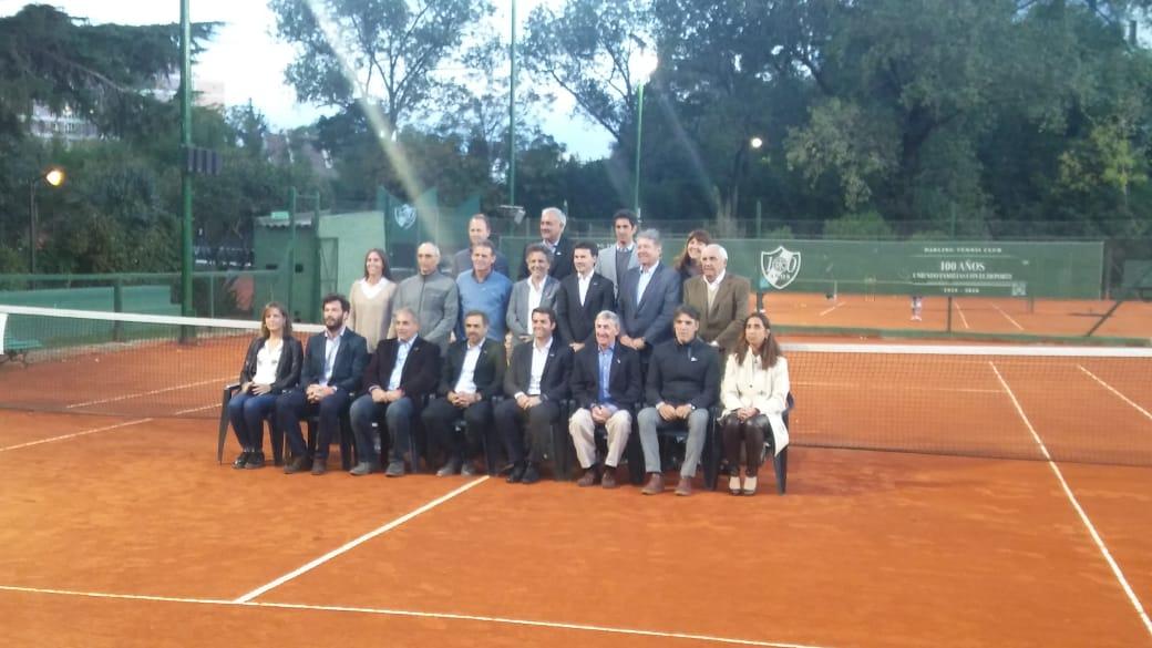 Resultado de imagen para asociacion argentina de tenis asunción nuevas autoridades