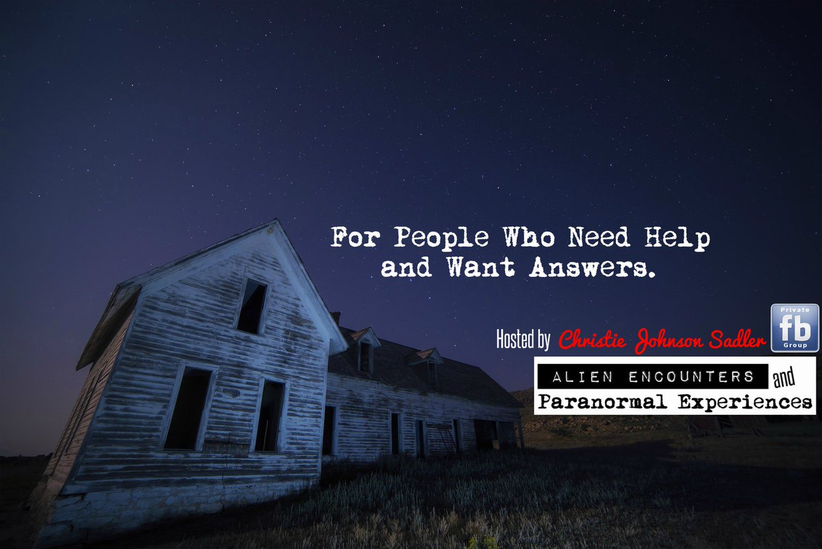 Please Retweet and Thank You!    https://www. facebook.com/groups/AlienEn countersAndParanormalExperiences/ &nbsp; …    #paranormal #ghost #ufo  #aliens #haunted #haunting   #soul #spirit #disclosure<br>http://pic.twitter.com/VDubepSUKQ