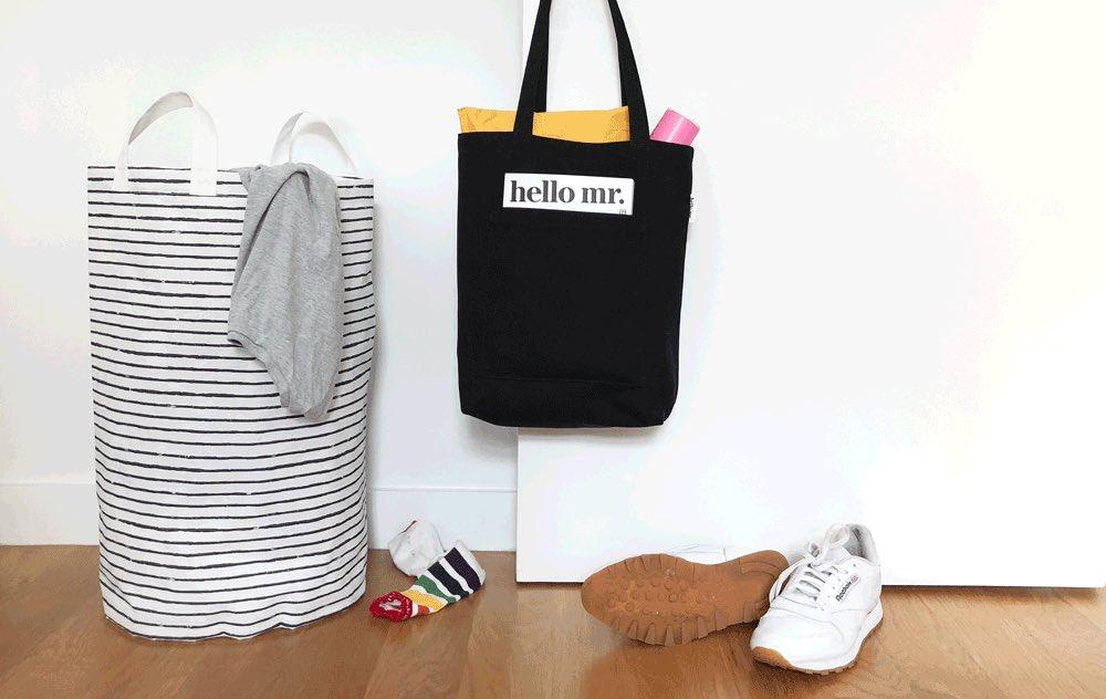 Tote Bag Hello Mr