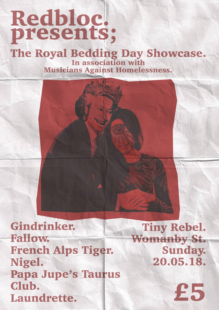 Has tonights @BBCLater Live with #JoolsHolland got you in the mood to discover more of #CardiffMusicScene? Come to @TinyRebelCdff SUNDAY 20th for our @MAH_Gigs #royalbeddingday Event raising awareness and money for #homelessness &amp; @crisis_uk #Cardiff <br>http://pic.twitter.com/ENEAY8H4RH