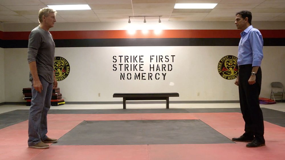 Does YouTube Red have its first hit series with #CobraKai? https://t.co/BBiw9jNKsb https://t.co/5PLxaiFNuq